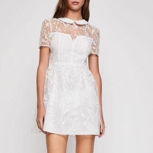 NWT BCNG white lace dress